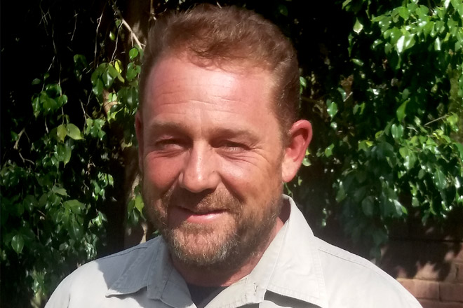 Darren Ellerman - Professional Hunter at Chapungu-Kambako Safaris