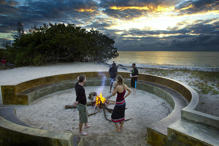 Pemba Beach Lodge Campfire