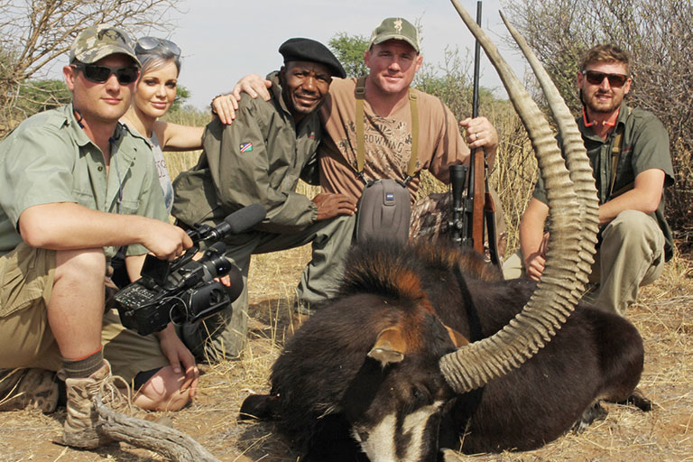 Plains Game Hunting (Sable) in Africa