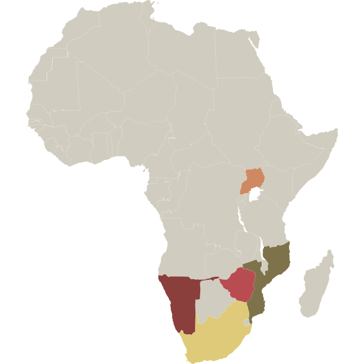 Chapungu-Kambako Safari's Hunting Regions in Africa