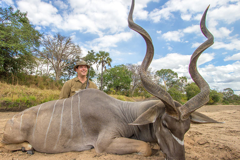 Plains Game Hunting (Kudu) in Africa